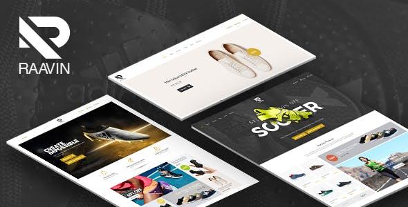 Raavin - Responsive WooCommerce WordPress Sport Shoes Theme
