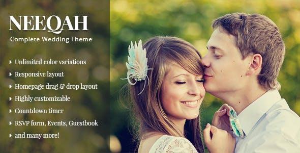 Neeqah - Wedding WordPress Theme