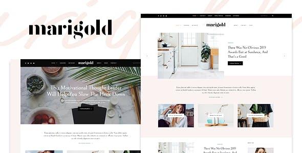 Marigold - A WordPress Blog & Shop Theme