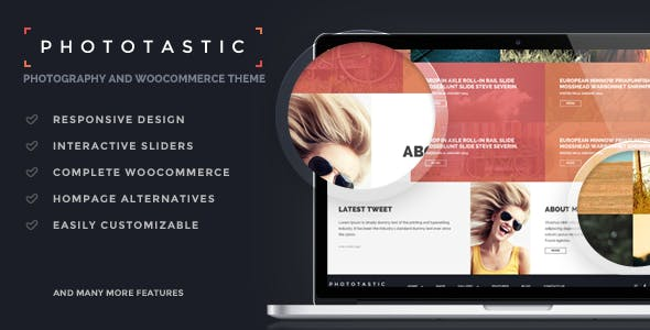 Phototastic – Portfolio Photography Theme