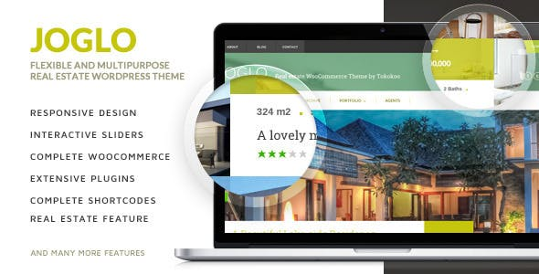 Joglo - Woocommerce Real Estate Theme