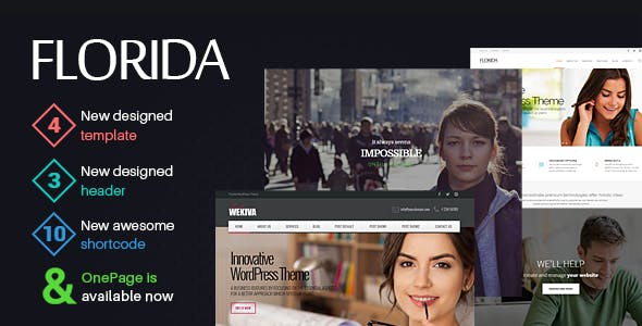 Florida - Multipurpose Responsive Theme