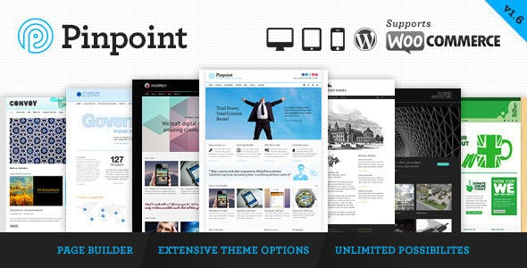 Pinpoint - Responsive Multi-Purpose WP Theme