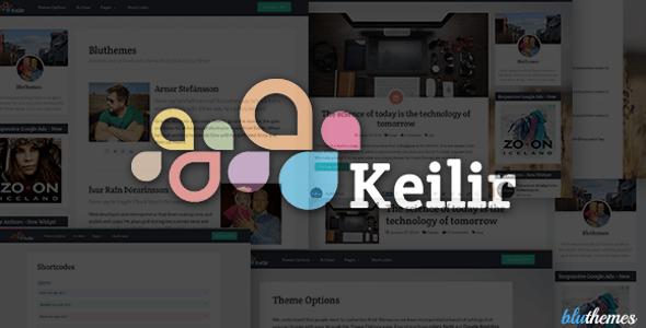 Keilir | Personal WordPress Blog Theme