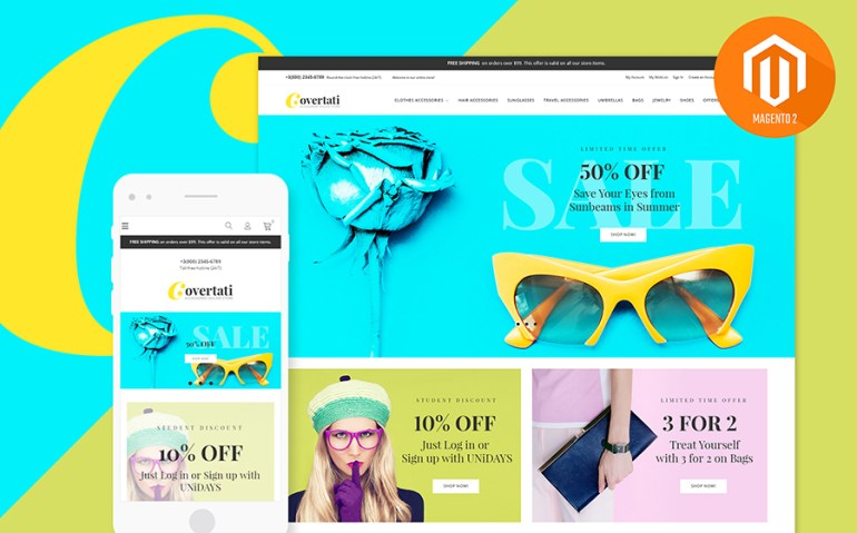Fashion Store Magento 2 Theme