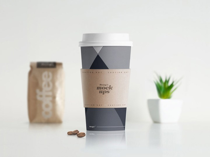 great coffee cup mockup free