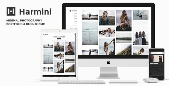 Photography | Harmini Photography WordPress for photography