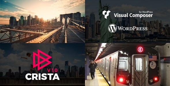 Crista - Video Blog WordPress Theme
