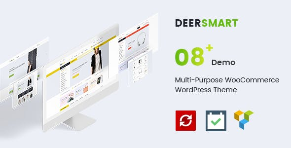 DeerSmart - Multipurpose Responsive WooCommerce WordPress Theme