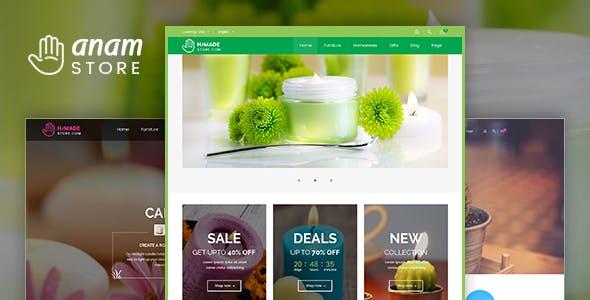 Anam - Health & Spa and Cosmetic WooCommerce WordPress Theme