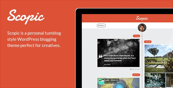 Scopic - A Personal Timeline Tumblog