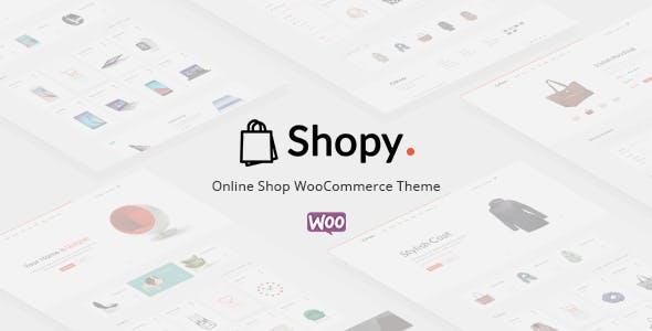 Shopy - Ecommerce WordPress Theme