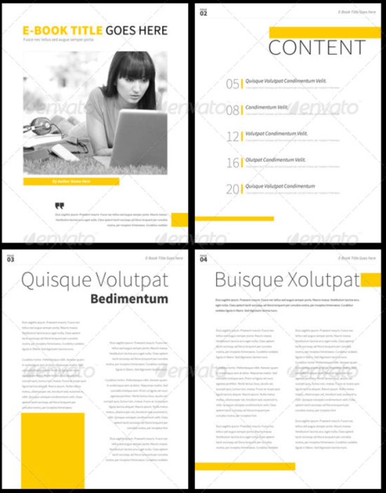 30 Indesign Ebook Templates For Self Publishers 038