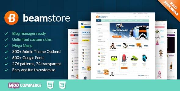 BeamStore - Multipurpose WooCommerce Theme