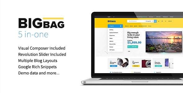 BigBag - WooCommerce WordPress Theme