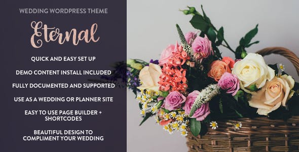 Eternal - Responsive Wedding WordPress Theme