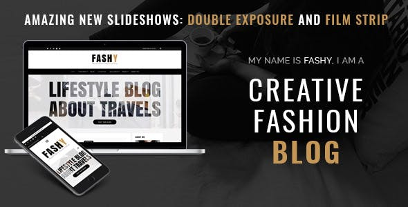 Fashy - WordPress Fashion Blog Theme