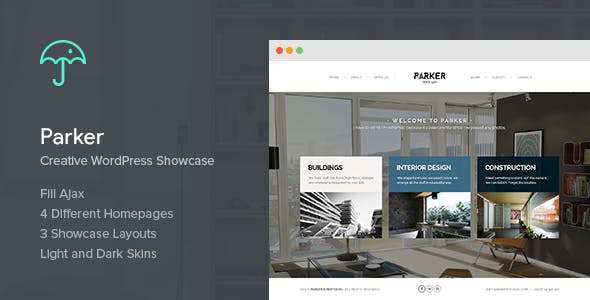 Parker - Creative WordPress Showcase