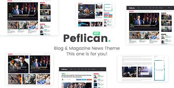 Peflican - A Newspaper and Magazine WordPress Theme