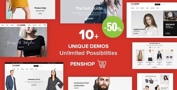 PenShop - Multi-Purpose eCommerce WordPress Theme
