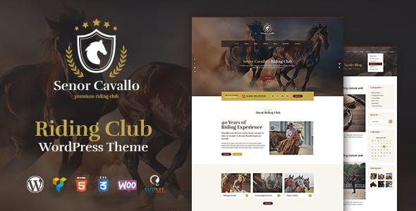 Senor Cavallo - Horse Riding Club, Stables & Equestrian Sport WordPress Theme