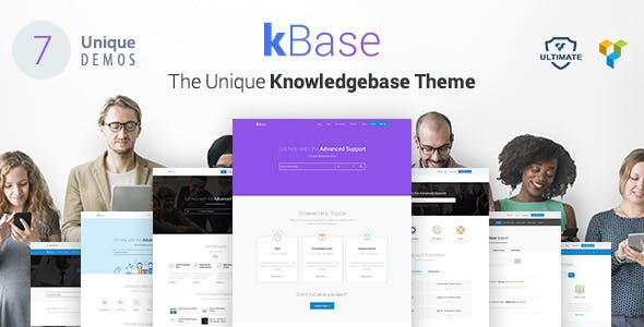 Knowledge Base, Helpdesk WordPress Theme