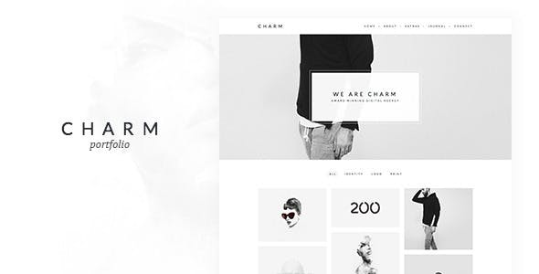 Charm - Portfolio for Freelancers & Agencies