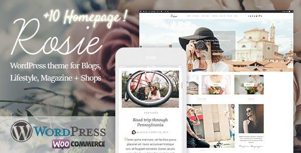 Rosie - A Beautiful WordPress Blog and Shop Theme