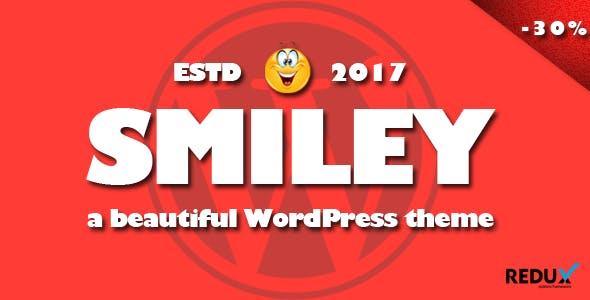 Smiley - Viral WordPress Blog Magazine Theme