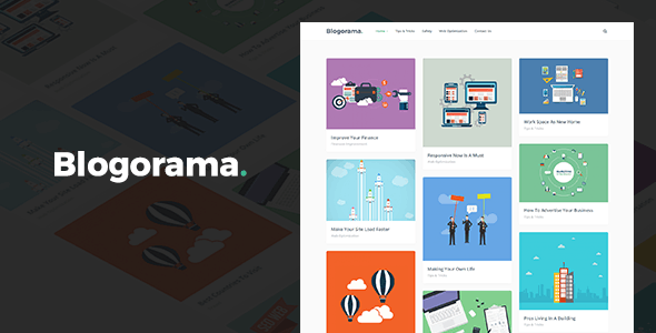 Blogorama - A Responsive WordPress Blog Theme
