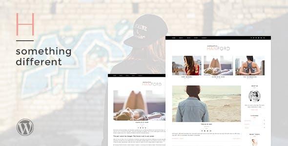 Hanford - Personal & Clean WordPress Blog Theme