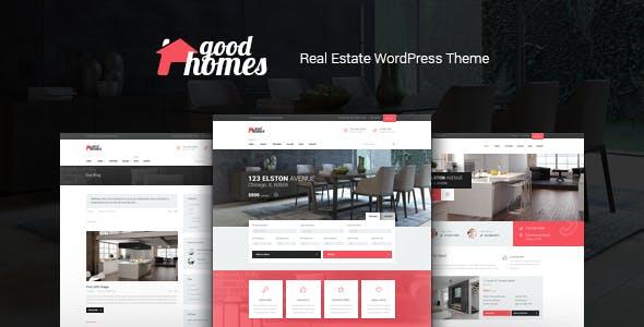 Good Homes | Real Estate Theme + AI SEO Restb.ai Plugin