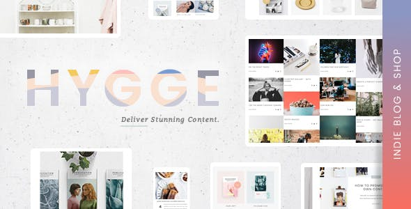 Hygge | An Independent Editorial Magazine & Blog Theme with Shop