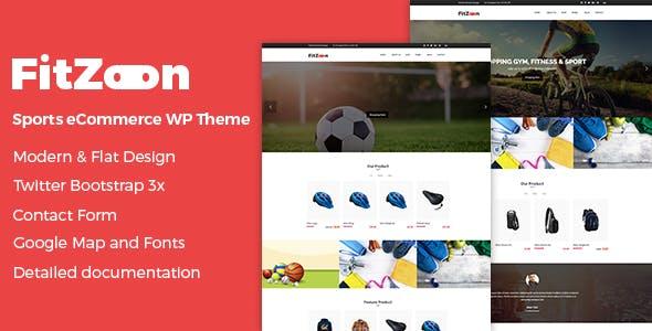 Fitzoon - Sports Store WooCommerce WordPress Theme