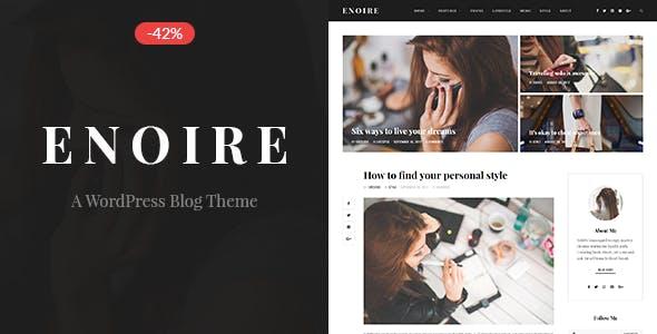 Enoire - A WordPress Blog Theme