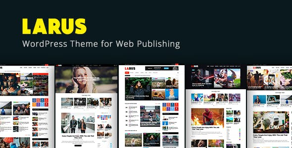 Larus - WordPress Blog Magazine Theme