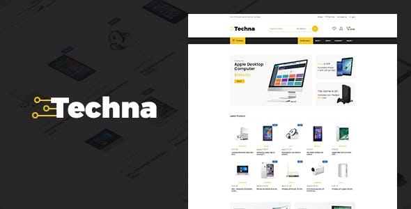 Techna - Electronics Shop WooCommerce Theme