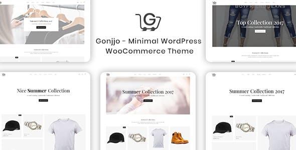Gonjjo - Minimal WooCommerce Theme