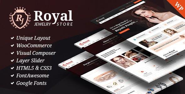 Royal Jewelry WordPress Responsive Theme