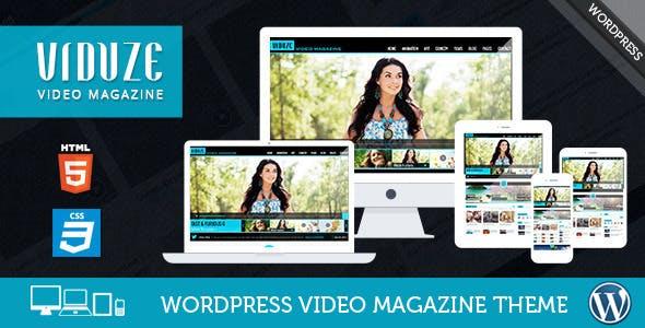 Viduze - Video WordPress Theme