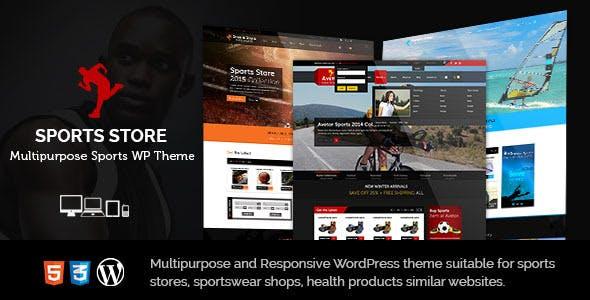 Sports Store Multipurpose WordPress Theme