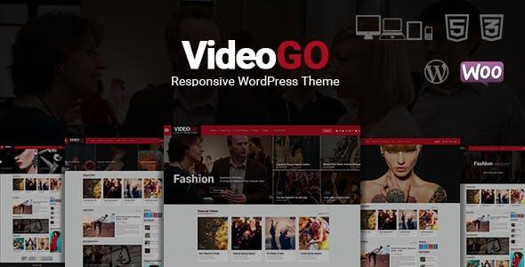 VideoGo - Video Responsive WordPress Theme