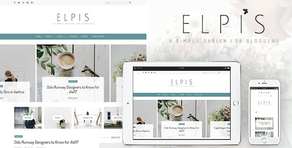 Elpis - A Simple Design For Bloggers