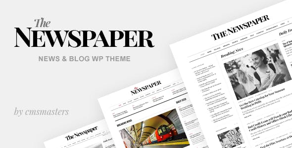 The Newspaper - News Magazine Editorial WordPress Theme