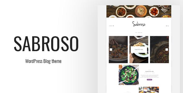 Sabroso - A WordPress Theme for Food Bloggers