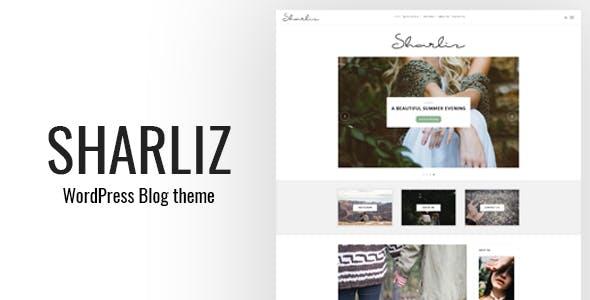 Sharliz - A Personal WordPress Blog Theme