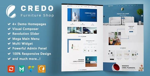 Credo - Furniture Responsive WooCommerce WordPress Theme