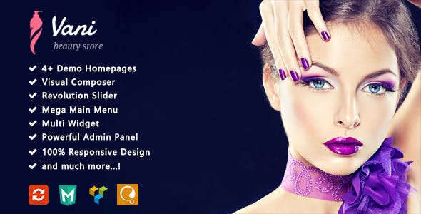 Vani - Beauty Responsive WooCommerce WordPress Theme