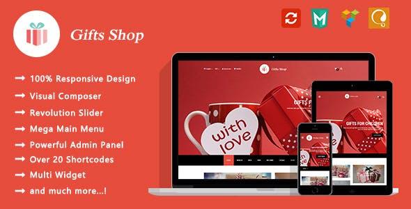 Gifts Shop - Responsive WooCommerce WordPress Theme