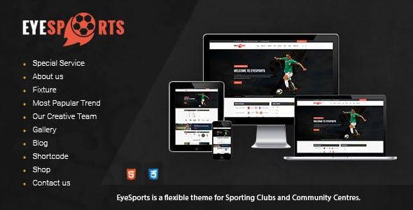 Eye Sports - Fixtures and Sports WordPress Theme